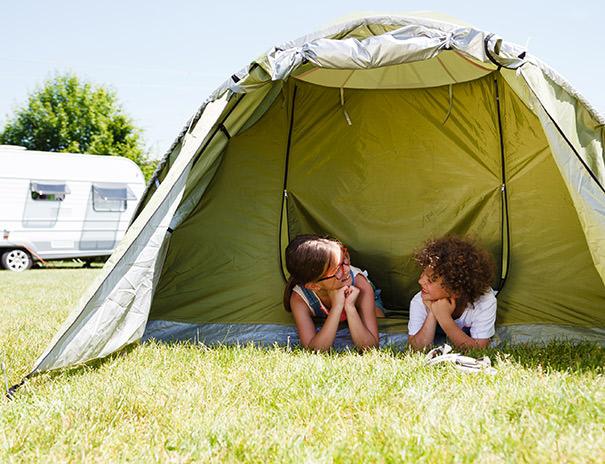 Bauernhof-Camping