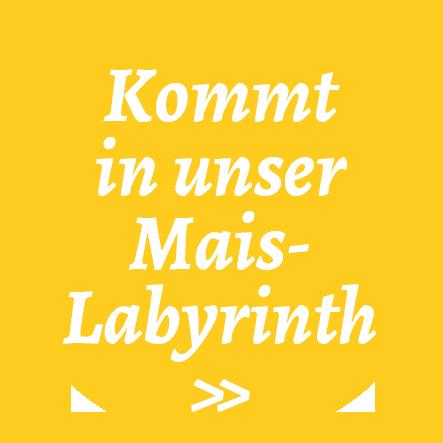 Kommt in unser Maislabyrinth - Stuttgart