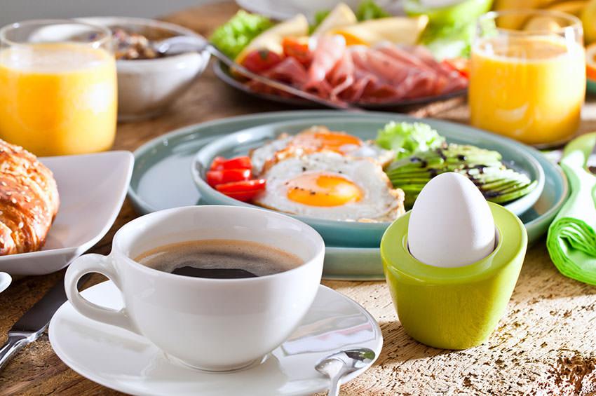 Hof-Café Sonnenhof - Frühstück