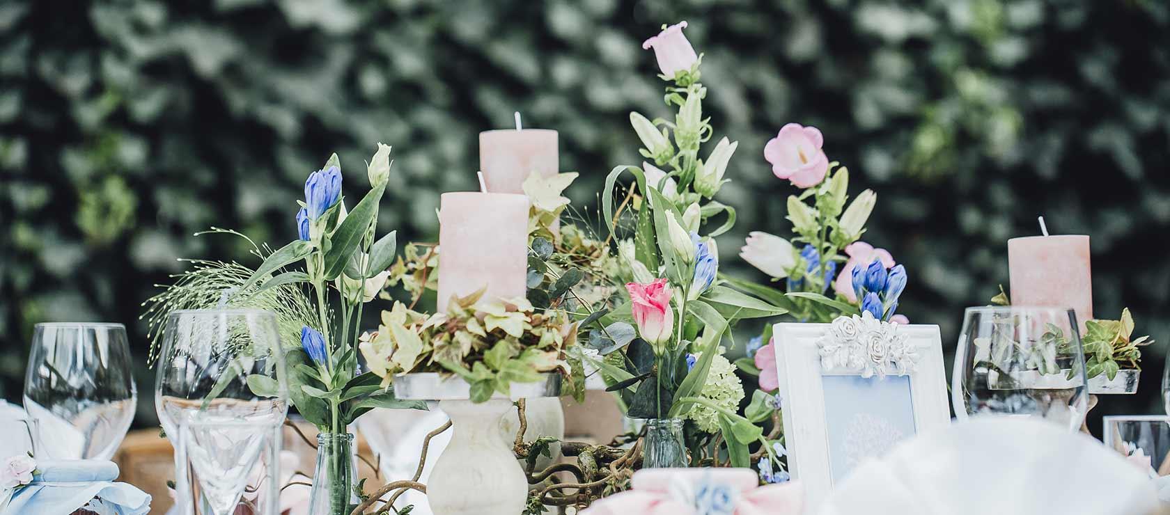 Hochzeitsfloristik Sonnenhof