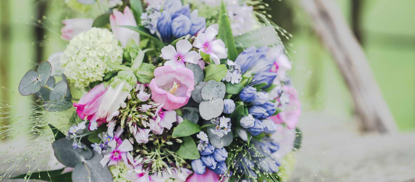 Brautstrauss - Floristik vom Sonnenhof für Ihre Hochzeit