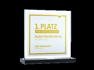 Der Sonnenhof 1. Platz Hochzeitslocation Baden-Württemberg