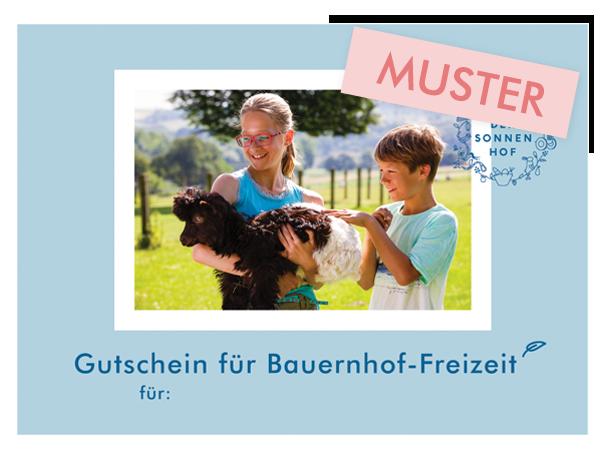 Gutschein Bauernhof-Freizeit Stuttgart