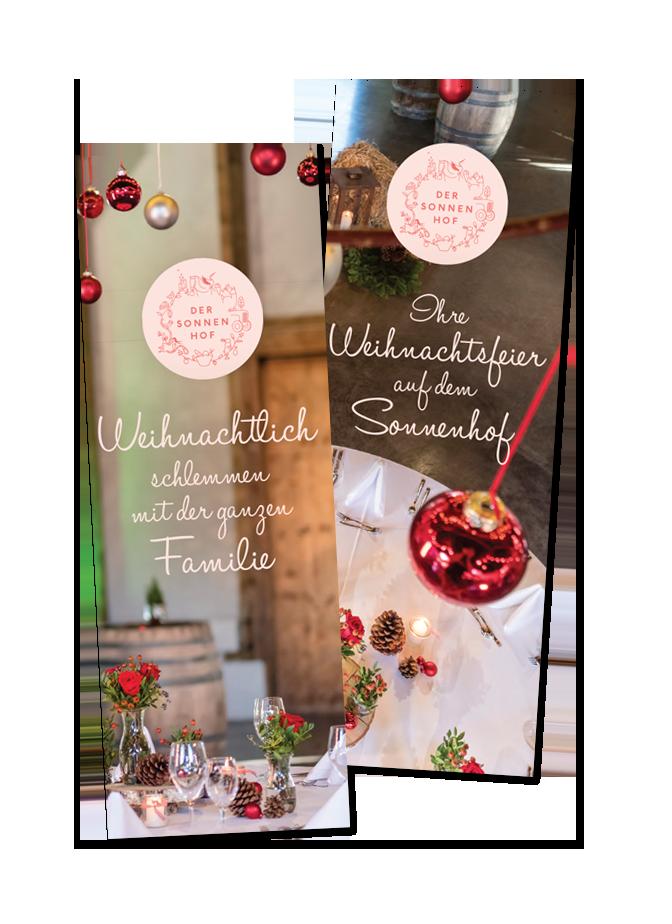 Weihnachtsfeier 2018 für Firmen und Familien